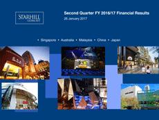 STARHILL GLOBAL REIT 2Q FY2016/17 RESULTS